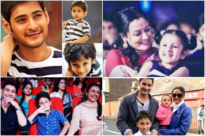 9 pics that make us fall in love with Namrata Shirodkar and Mahesh Babu's parenting style!