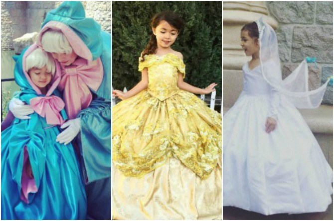LOOK: Designer dad creates enchanting Disney-inspired costumes
