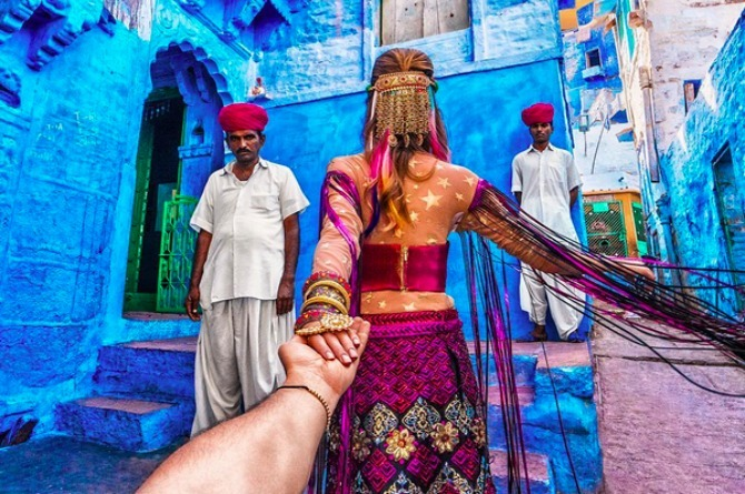 Instagram's #FollowMeTo couple show us why India is the perfect country to rekindle romance after marriage
