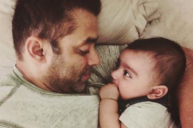 Salman Khan just did the cutest thing for a fellow actor's baby boy!