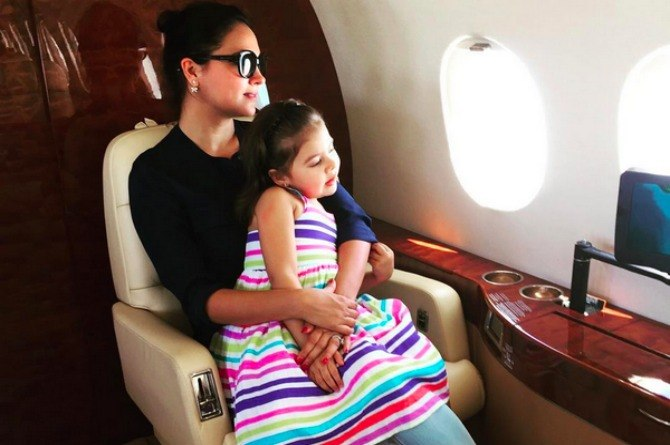 Lara Dutta and her daughter are out for some Lego fun and they look adorable together!