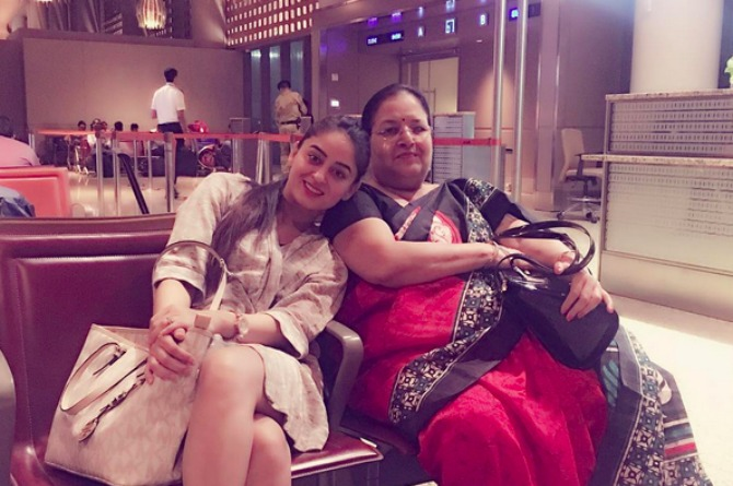 Actor Mahhi Vij always travels with her mum-in-law for THIS very sweet reason!