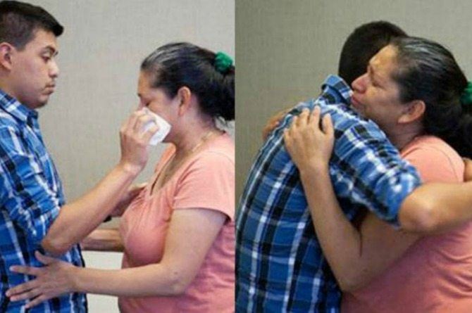 Mother and her abducted son reunite after 21 years