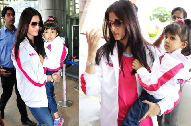 Here's the reason why Aishwarya still carries Aaradhya in her arms