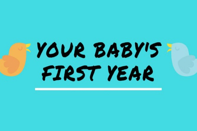Infographics: This is your baby's first year