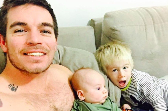 Funny dad's facebook posts about being a mum go viral