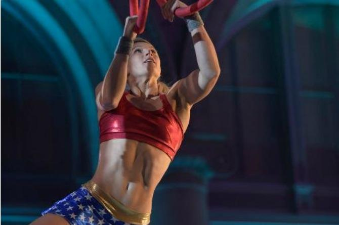 WATCH: Real life wonder woman conquers American Ninja Warrior, inspires young girls