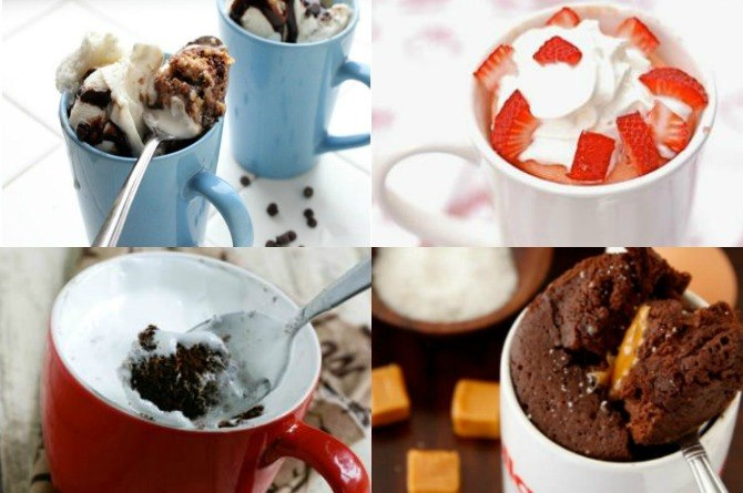 10 delectable mug cakes you can make in minutes!
