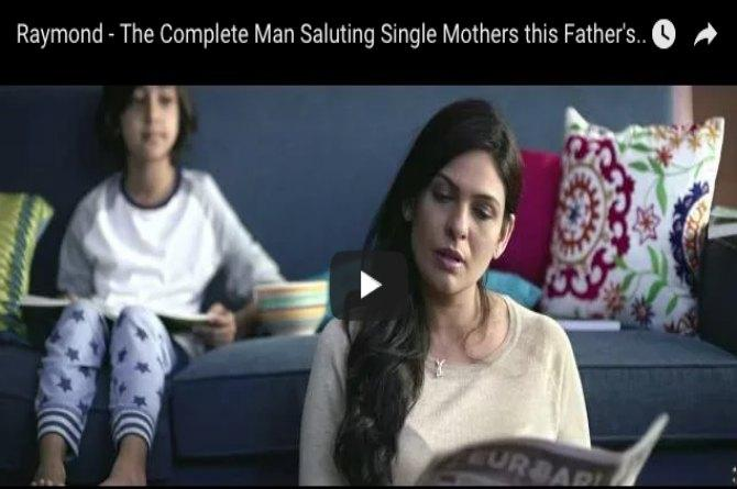 Watch: Raymond suitings shifts focus from the complete man, salutes single mothers!