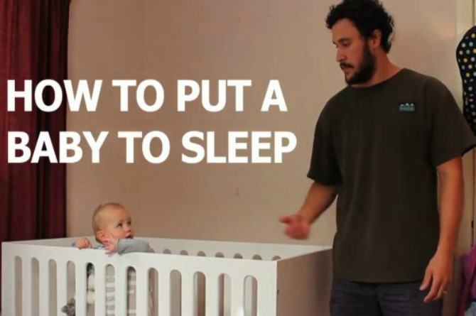10 ways to put your baby to sleep according to one funny dad