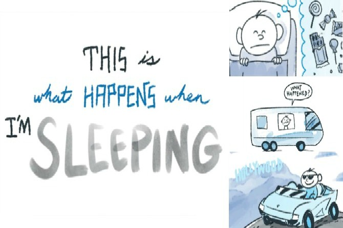 This cute little video talks about the things a little kid dreams about