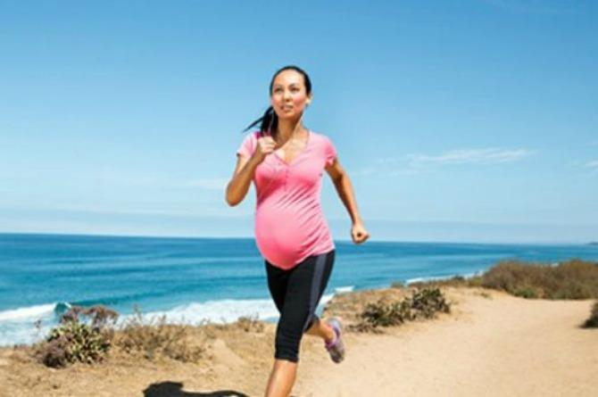 Running won't harm you or your unborn child, experts say