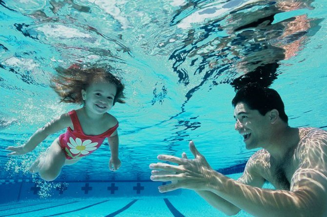 5 benefits of swimming for your little ones