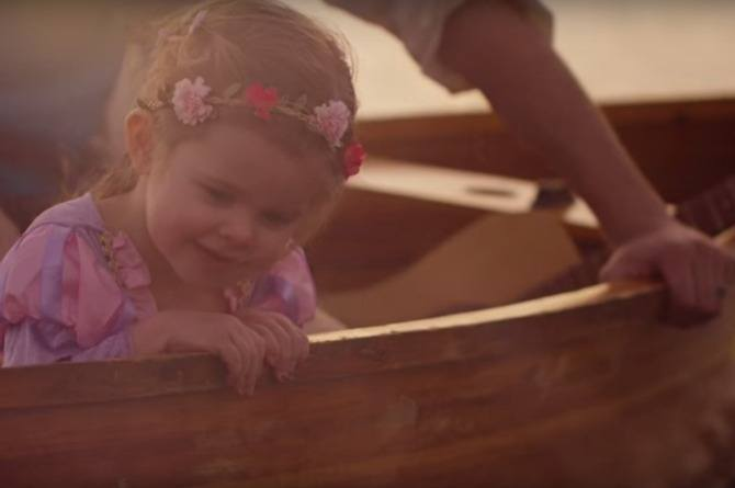 WATCH: 3-year-old perfectly recreates Disney's Tangled with her dad as her prince