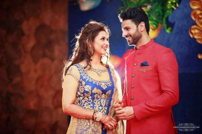 In Photos: Divyanka Tripathi's mehendi and sangeet ceremony will give you major wedding goals