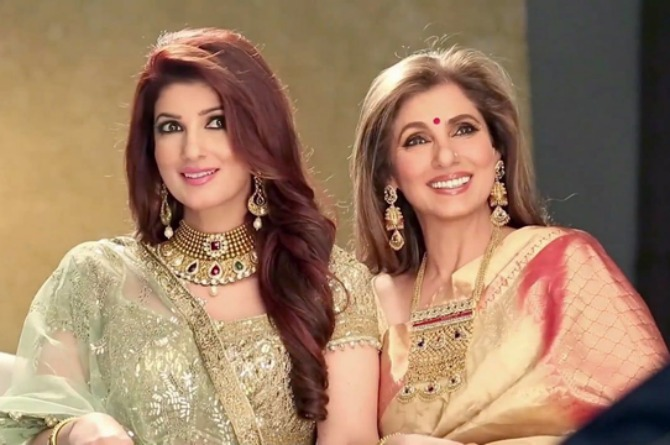 Mother-daughter duo Twinkle Khanna and Dimple Kapadia are raising the bar of mum fashion!