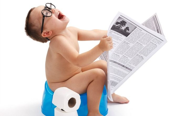 How humour can make potty training easy