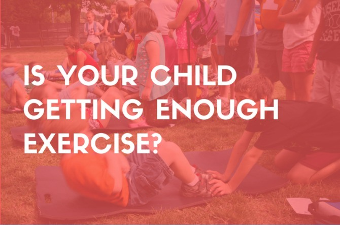 Infographic: Is your child getting enough exercise?