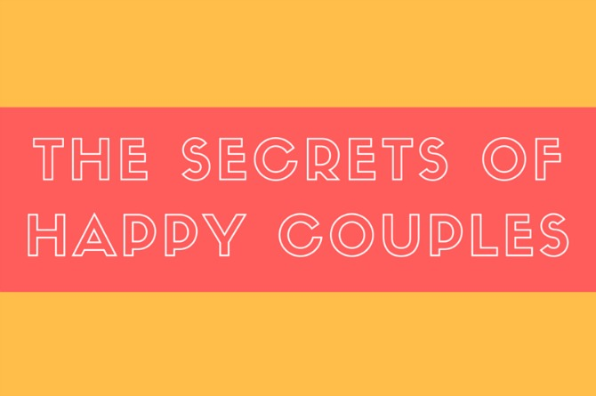 Infographic: The secrets of happy couples