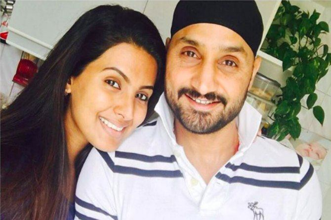 Harbhajan Singh is busy attending prenatal classes with wife Geeta Basra in London