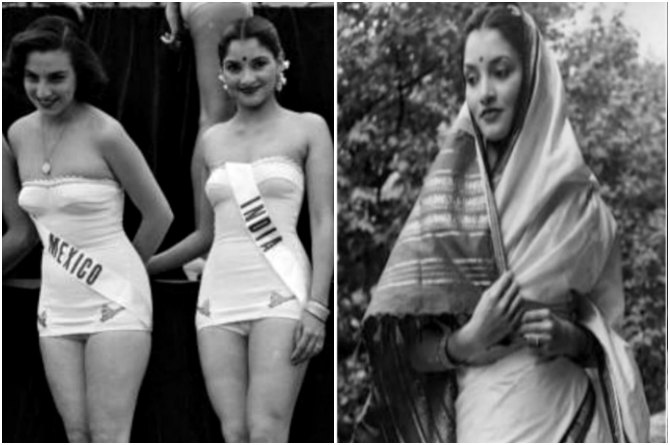 Indrani Rahman was a mother of two kids when she represented India at the First Miss Universe Pageant!