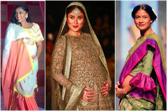 Not only Kareena, but these celeb mums also walked the ramp with their baby bump!