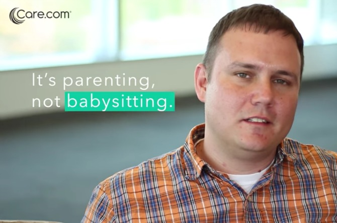"""Dads speak out: """"We're parents, not babysitters"""""""