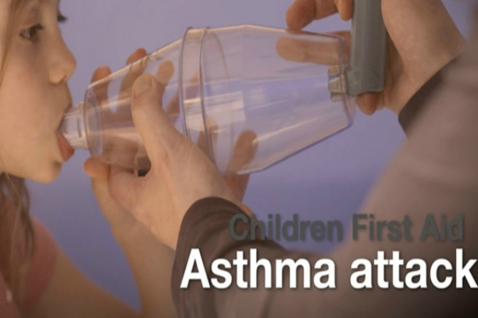 First aid tips: What to do if your child has an asthma attack