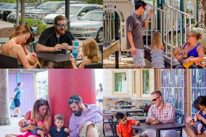 Dads speak up about supporting moms breastfeeding in public