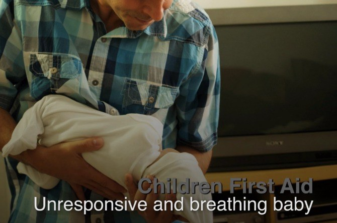 What to do if your baby is unresponsive, but still breathing