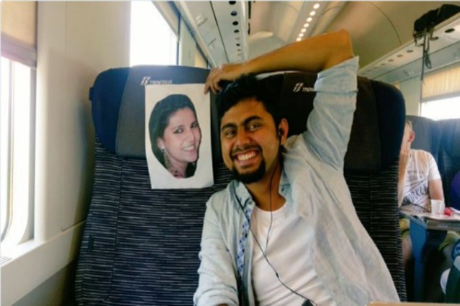 How Sushma Swaraj made sure that this husband is with his wife on their honeymoon!