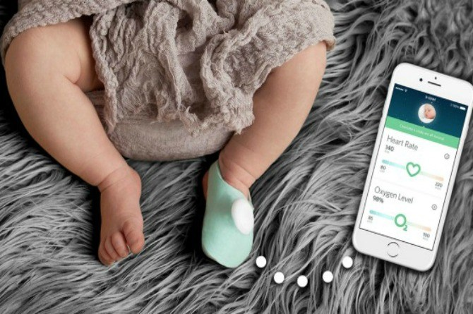 This sock could save your baby's life by preventing SIDS