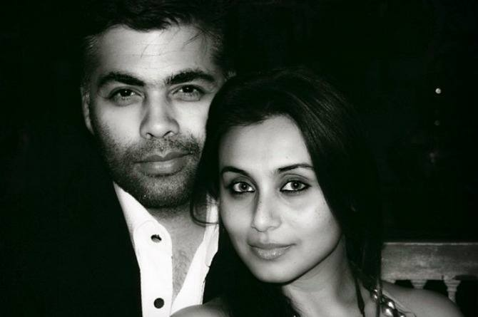 Karan Johar revealed something unbelievable about Rani Mukherjee's parenting style!