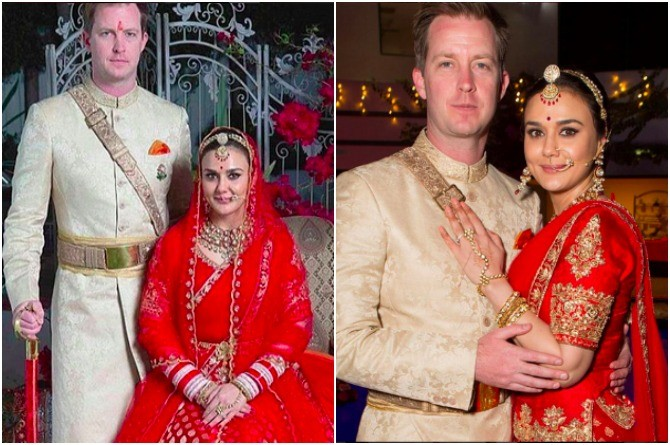 Wow! Preity Zinta's wedding pictures are out and they are simply amazing!