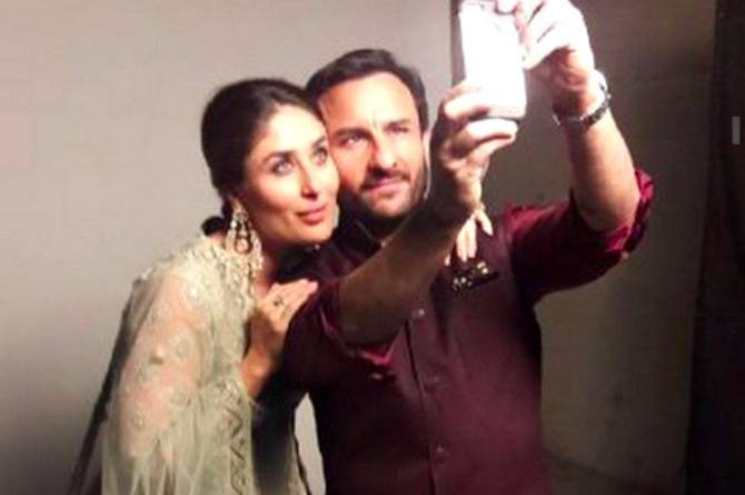 Parents-to-be Kareena Kapoor Khan and Saif Ali Khan model together for a shoot!