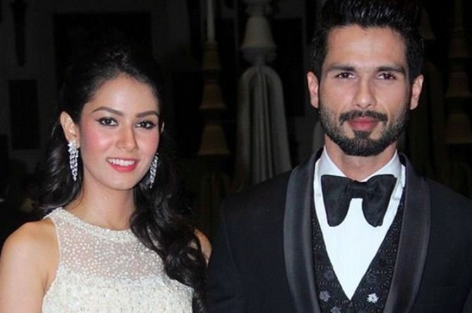 New parents Shahid and Mira introduce their daughter to her first guest!