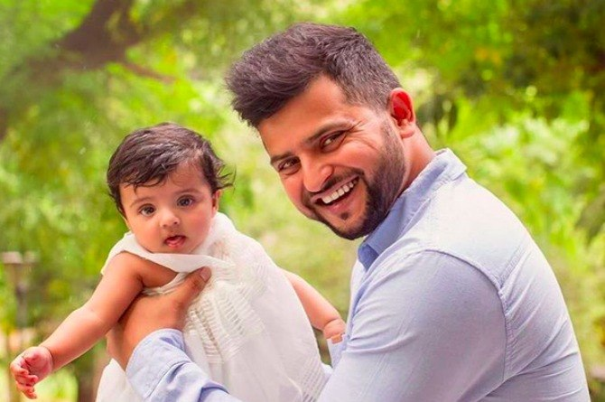 Have you seen Suresh Raina's daughter Gracia? She is growing up so fast!