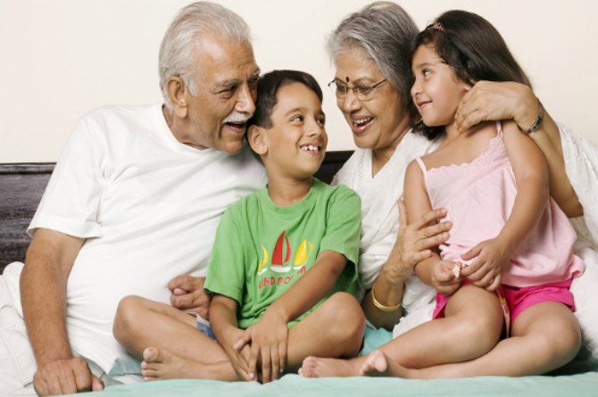 Why grandparents shouldn't be treated as babysitters