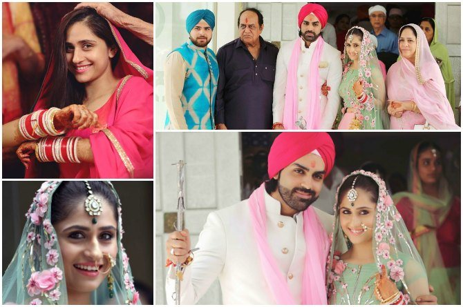 Tv Actress Hunar Hale S Marriage Pics Give You A Glimpse