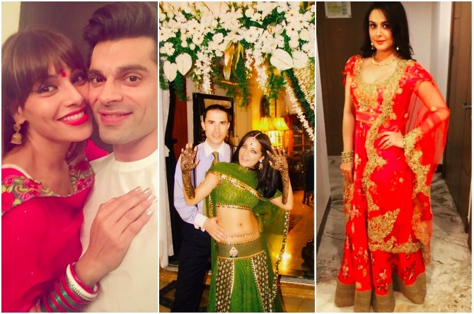 In Pics: Here's how Bollywood bahus celebrated Karva Chauth this year