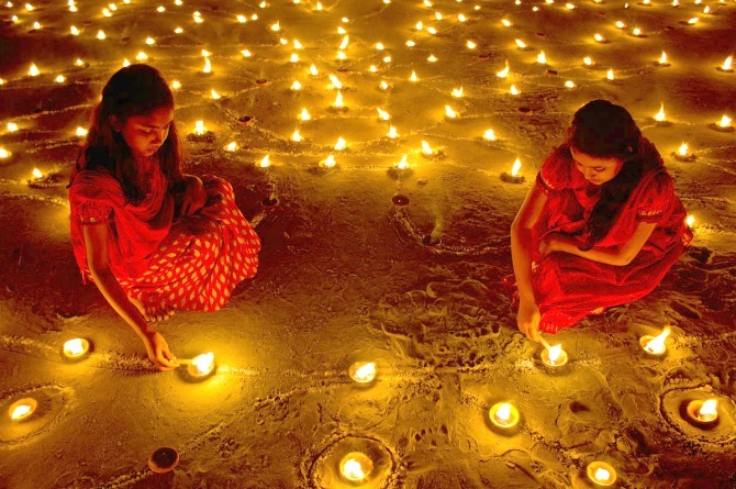 5 quirky ideas for kids' Diwali party