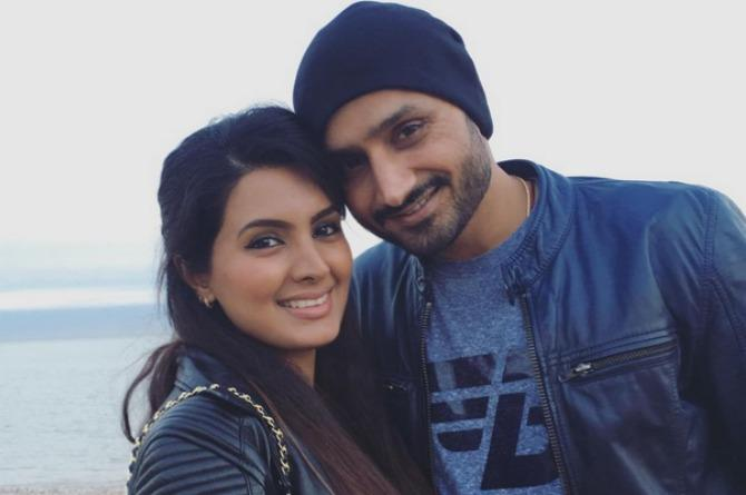 Geeta Basra just revealed how new dad Harbhajan Singh does his daddy duties!