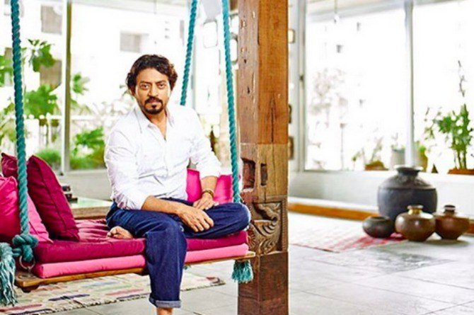 We can bet actor Irrfan Khan's 'humble' abode will take your breath away!