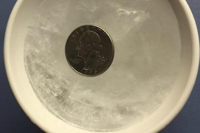 How you can tell if the food in your freezer is still fresh, using just a cup of water and a coin