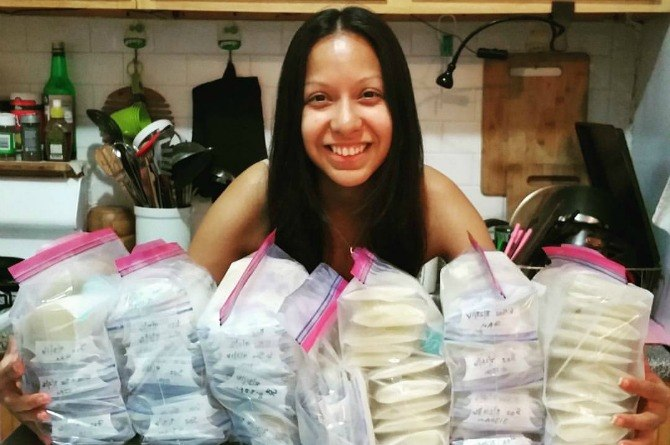 Mother honors her stillborn son's memory by donating over 59 litres of breast milk