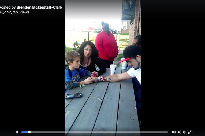 """""""Mommy died last night"""" Father shares video of son's reaction to mom's overdose"""