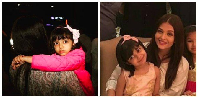 On Aaradhya's fifth birthday, here are 5 pics that prove she's taken after her mother Aishwarya!