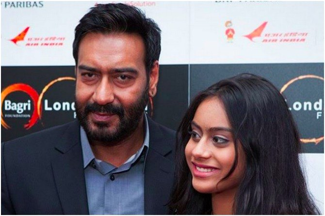 Doting dad Ajay Devgn won't take his daughter along for celeb events!