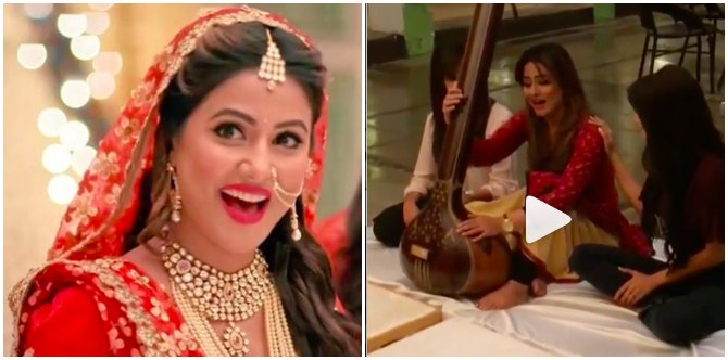 Watch Hina Khan Is Inconsolable As She Shoots For The Last Episode