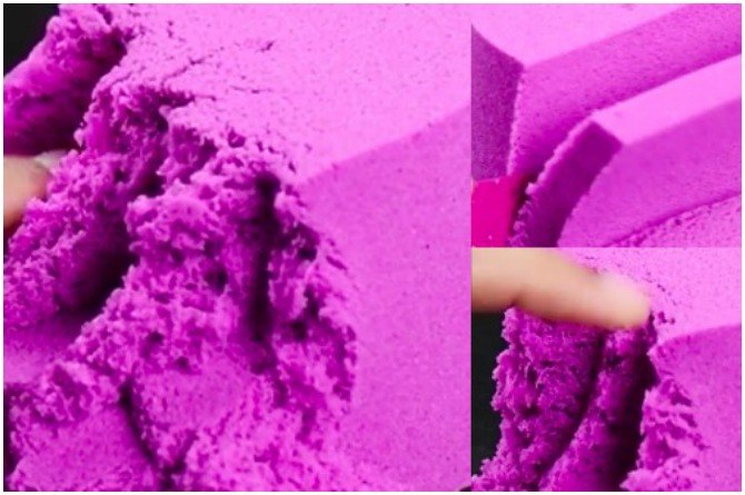 DIY: How to make your own kinetic sand and make the most out of sand play